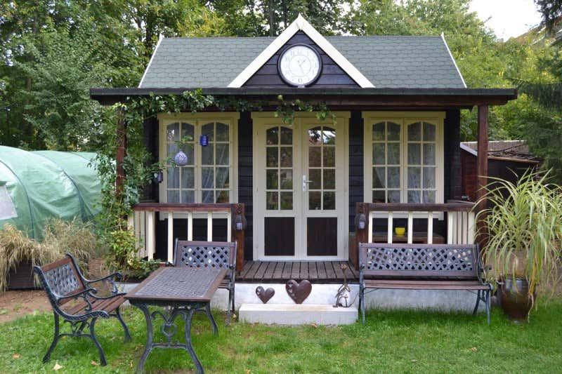 gartenhaus clockhouse oxford 44 iso a z gartenhaus gmbh. Black Bedroom Furniture Sets. Home Design Ideas