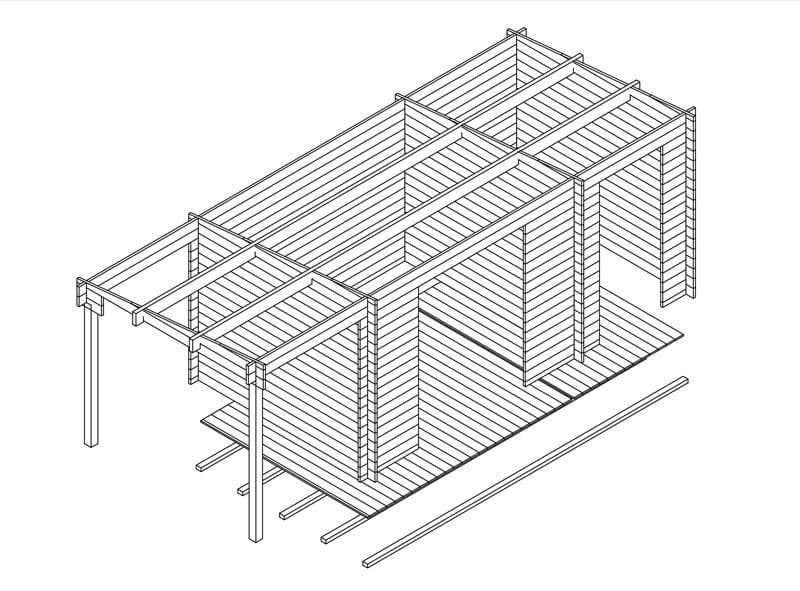 gartenhaus nach ma mit sonderanfertigung zum traumhaus. Black Bedroom Furniture Sets. Home Design Ideas