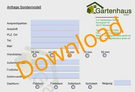 Anfrageformular zum Download