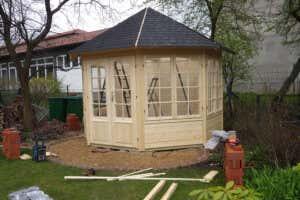 Pavillon für Garten