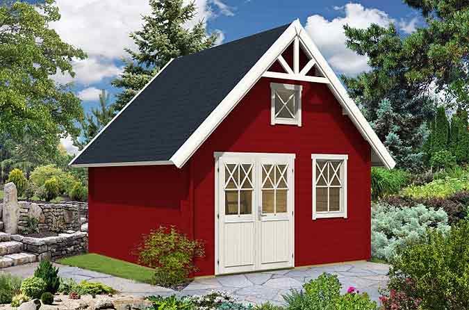 Gartenhaus schwedenstil  Was ist ein Schwedenhaus? Vom Gartenhaus im Schweden-Style