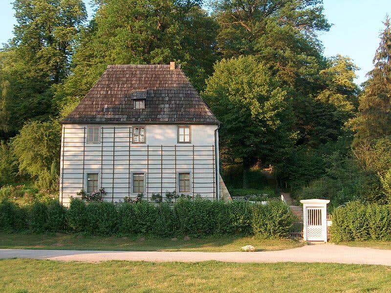 Goethes Gartenhaus. Bildquelle: Zarafa at en.wikipedia/ commons.wikimedia.org