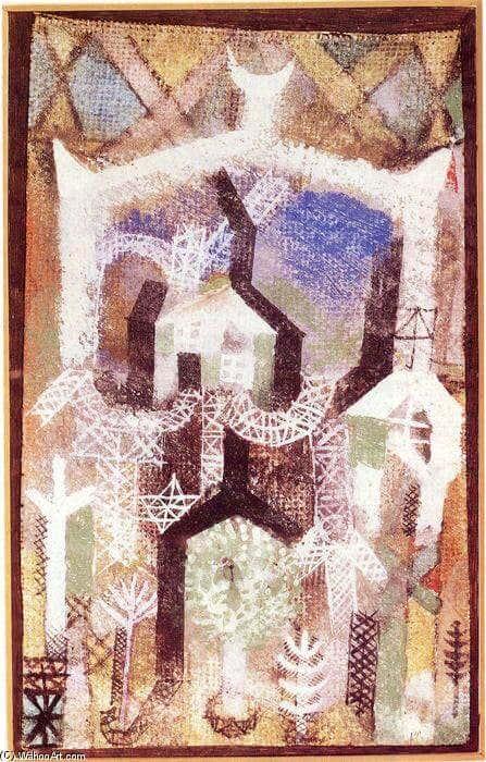Paul Klee- Gartenhäuser/ Bildquelle: de.wahooart.com