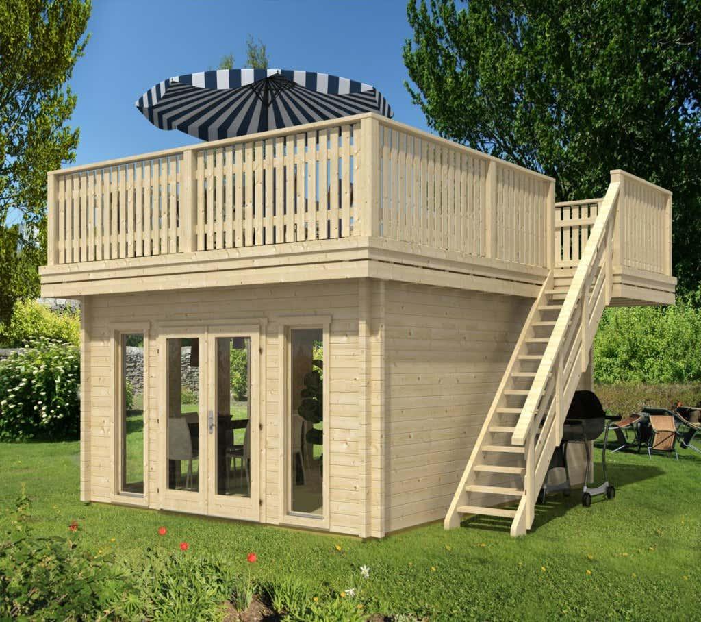 Gartenhauser tonnendach