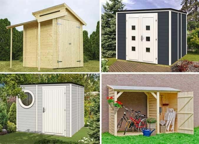 Bekannt Auch ein Gerätehaus darf gut aussehen! Inspirationen für Sie AX71