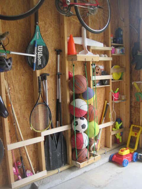 Stauraum Im Gartenhaus Schaffen: Kreative Werkzeugaufbewahrung Aufbewahrung Gartengerate Ideen