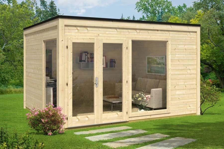 pultdach satteldach flachdach gartenh user und ihre dachformen gartenhaus magazin. Black Bedroom Furniture Sets. Home Design Ideas