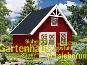 Gartenhaus versichern