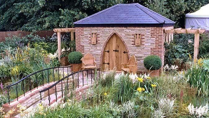 Welches Material wähle ich für mein Gartenhaus?