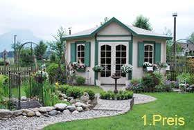 Gartenhaus Arkona 40 - Platz 1 Fotowettbewerb