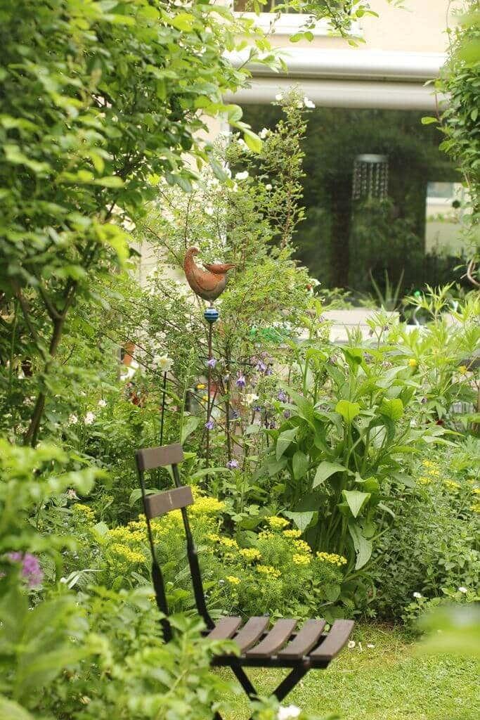 Elkes Lieblingsplatz im Garten