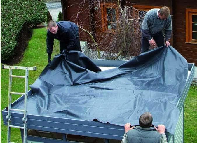 Gartenhaus Flachdach Abdichten So Geht S Richtig Anleitung