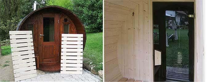 Bodenroste und Zwischentür