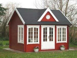 Gute Idee: Ein Gartenhaus als Hausboot Aufbau