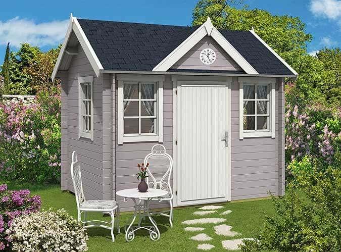 gartenwege gestalten auf gutem fu e zum gartenhaus. Black Bedroom Furniture Sets. Home Design Ideas