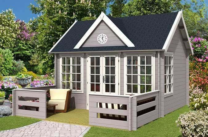 clockhouse design gartenh user im englischen stil. Black Bedroom Furniture Sets. Home Design Ideas
