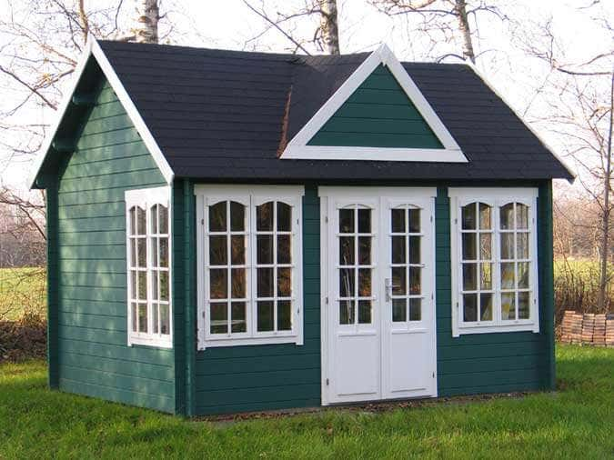 Schwedenhaus grün  Clockhouse-Design: Gartenhäuser im englischen Stil