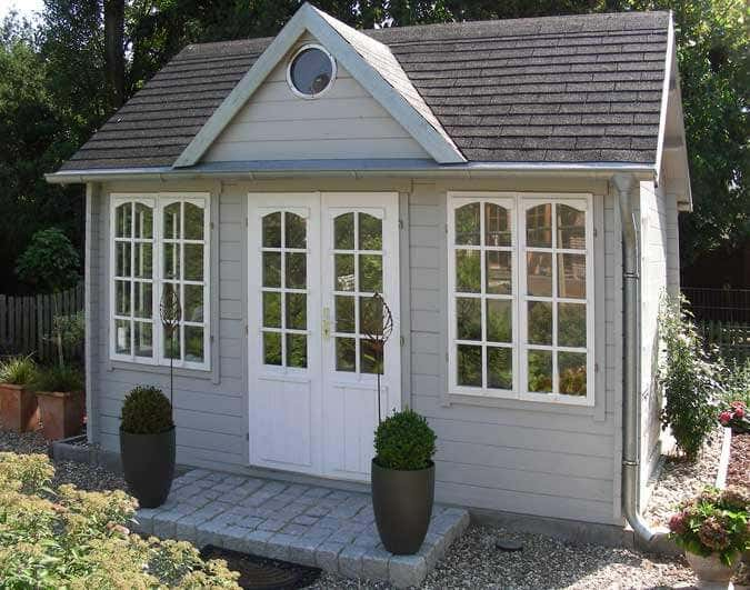clockhouse design gartenh user im englischen stil. Black Bedroom Furniture Sets. Home Design Ideas