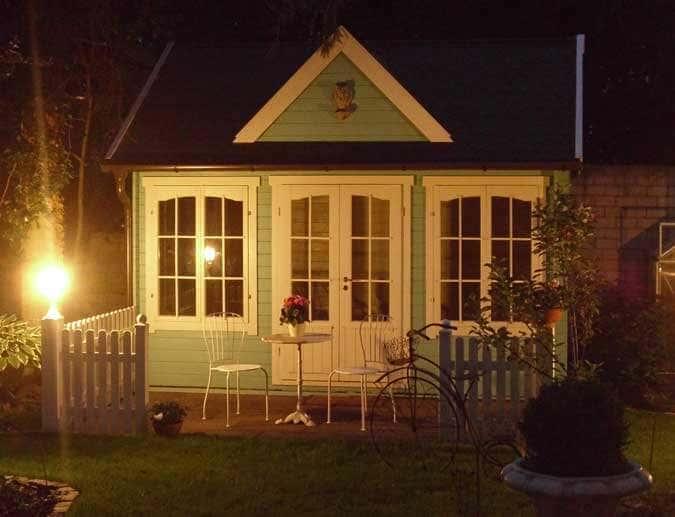 Clockhaus bei Nacht