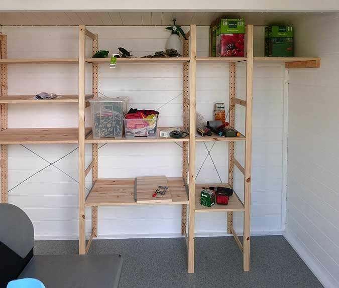 gartenhaus maria 40 eine aufbaugeschichte in bildern. Black Bedroom Furniture Sets. Home Design Ideas