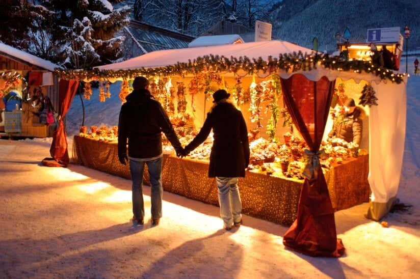 Weihnachtsmarkt in Kloster Ettal