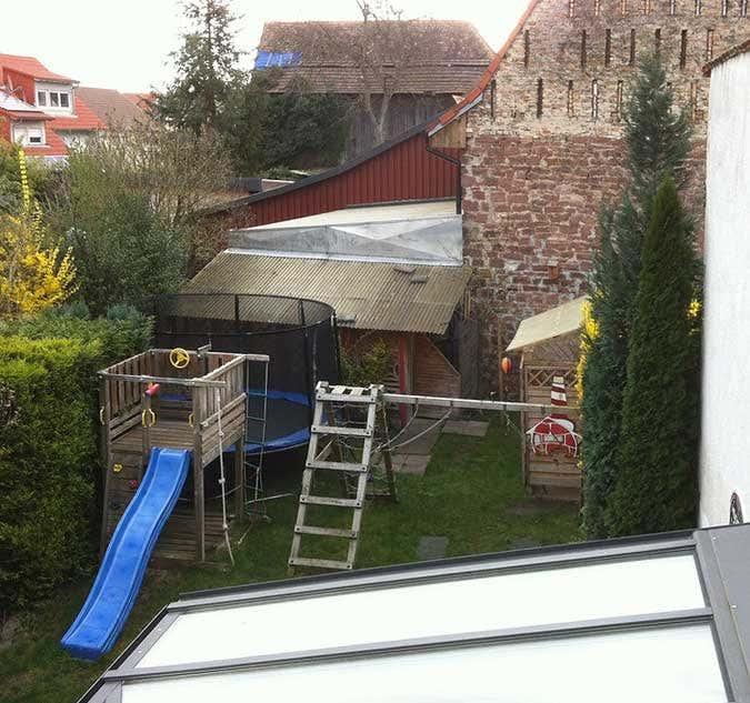 Paradox Ein Großzügiges Gartenhaus Vergrößert Kleine Gärten