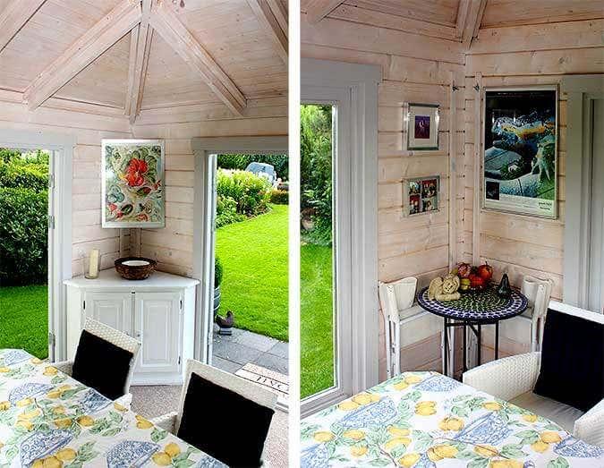 Gartenhaus teehaus 70 schatten windschutz und geborgenheit for Magazin einrichtung