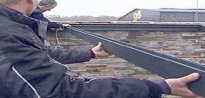 Bauanleitung für die Aluminium-Terrassenüberdachung
