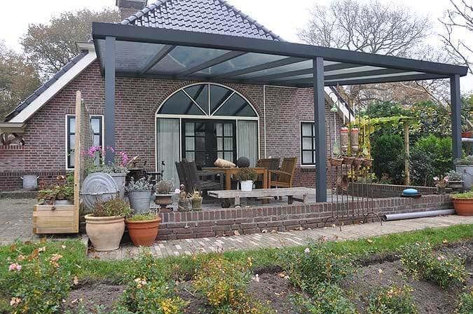 bauanleitung f r die aluminium terrassen berdachung. Black Bedroom Furniture Sets. Home Design Ideas