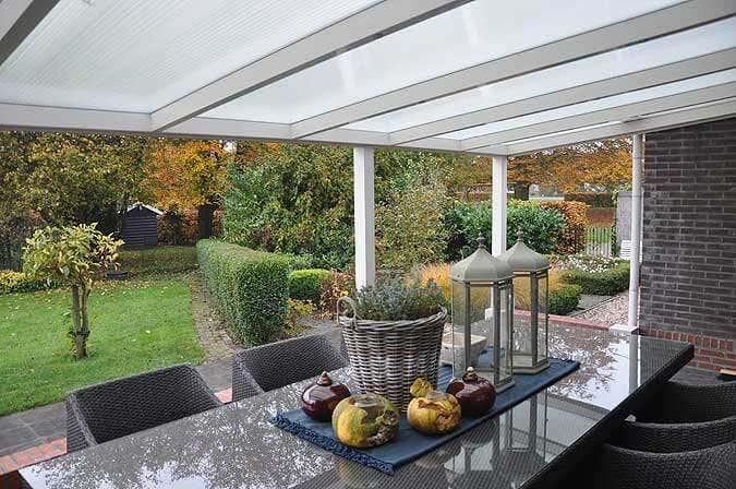 Überdachte Terrasse Freistehend bauanleitung für die aluminium-terrassenüberdachung