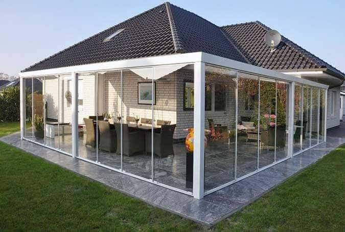 inspirationen glasschiebew nde f r terrassen berdachungen. Black Bedroom Furniture Sets. Home Design Ideas