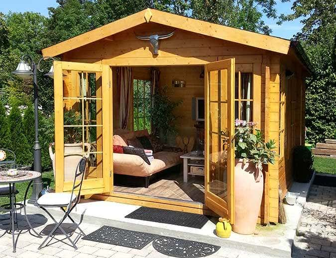 gartenhaus mit sauna und kamin my blog. Black Bedroom Furniture Sets. Home Design Ideas