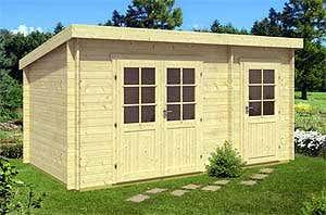 aufbau eines gartenhauses mit podest fundament. Black Bedroom Furniture Sets. Home Design Ideas