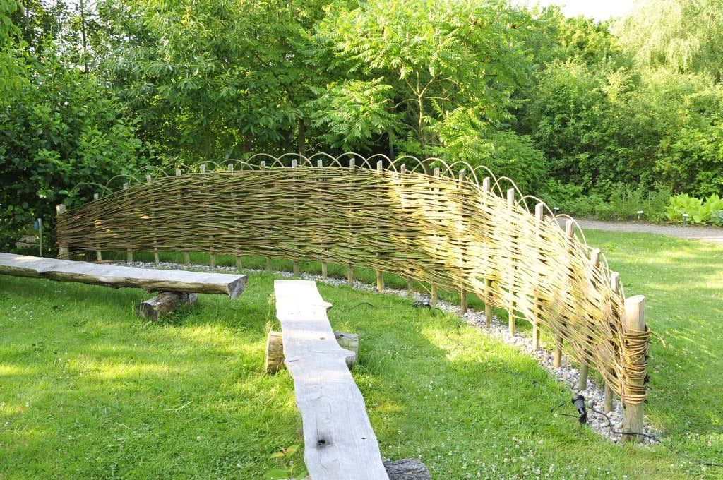 Flechtelement Garten