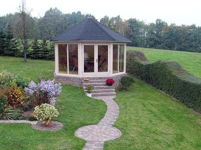 Dritter Preis Gartenhaus-Fotowettbewerb