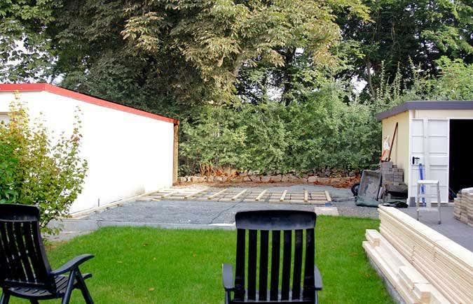 flachdach gartenhaus schritt f r schritt zur wohlf hl oase. Black Bedroom Furniture Sets. Home Design Ideas