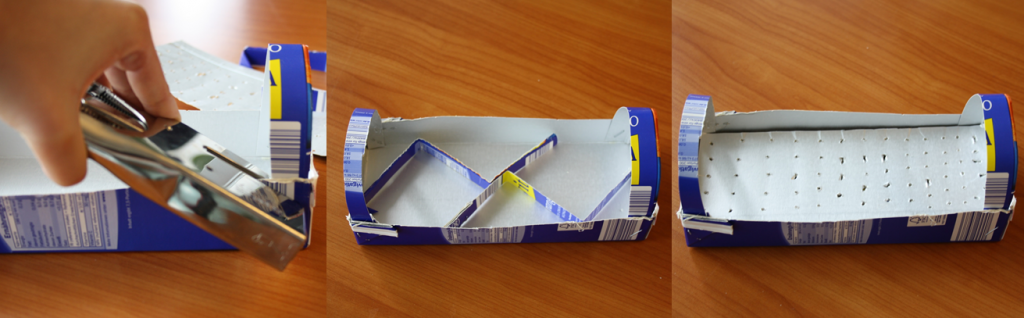 Tetrapak-Gewächshaus Schritt-5-6-7