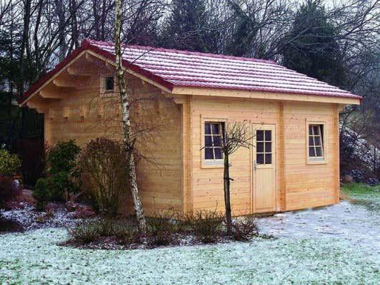 Blockhaus  Wohnen im Blockhaus: Das sind die Vorteile!