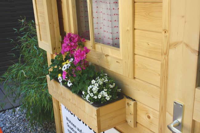Blumenkasten unter dem Fenster von My Sweet Hoam