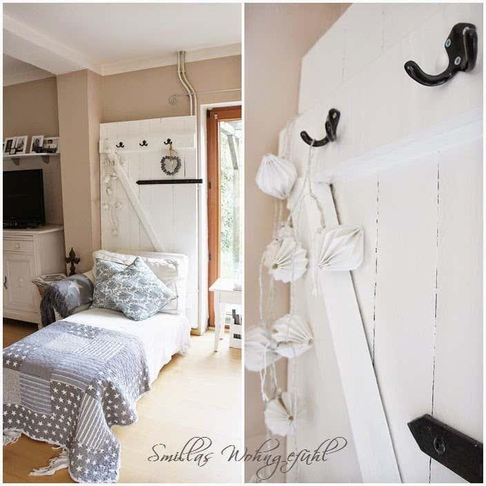 holzleiter deko deko ideen schlafzimmer diy details alte ... - Deko Ideen Schlafzimmer Diy