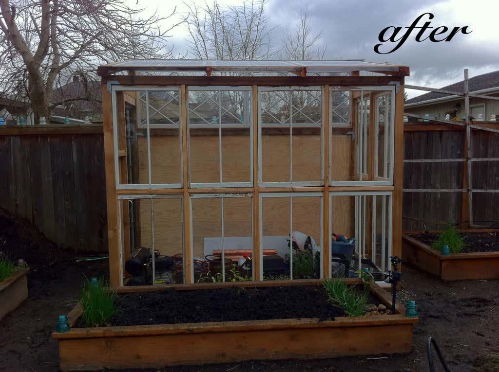 upcycling garten gew chshaus umweltbewusst selber bauen. Black Bedroom Furniture Sets. Home Design Ideas