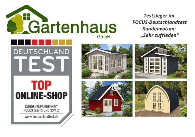 erfahrungen und bewertungen gartenhaus gmbh ausgezeichnet als shop mit h chster kundenzufriedenheit. Black Bedroom Furniture Sets. Home Design Ideas