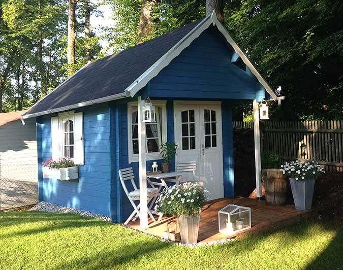 Gartenhaus Bunkie 40: Gelungener Aufbau und Einrichtung