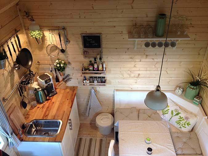 Gartenhaus bunkie 40 gelungener aufbau und einrichtung - Gartenhaus 40 qm ...