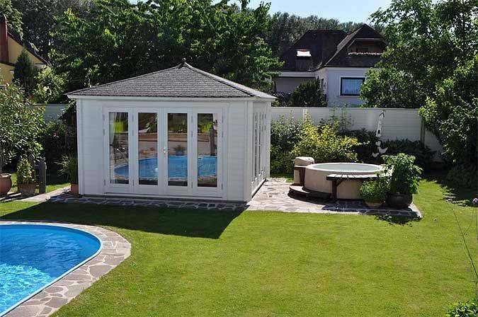 Zum Entspannen Und Genießen Familie Büglers Gartenhaus