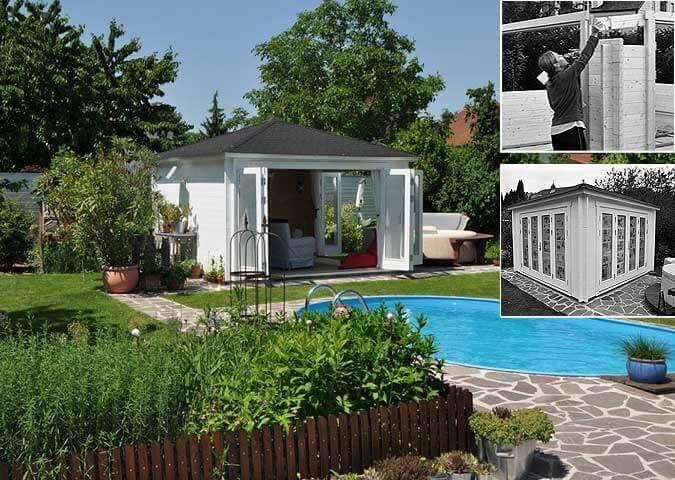 zum entspannen und genie en familie b glers gartenhaus. Black Bedroom Furniture Sets. Home Design Ideas