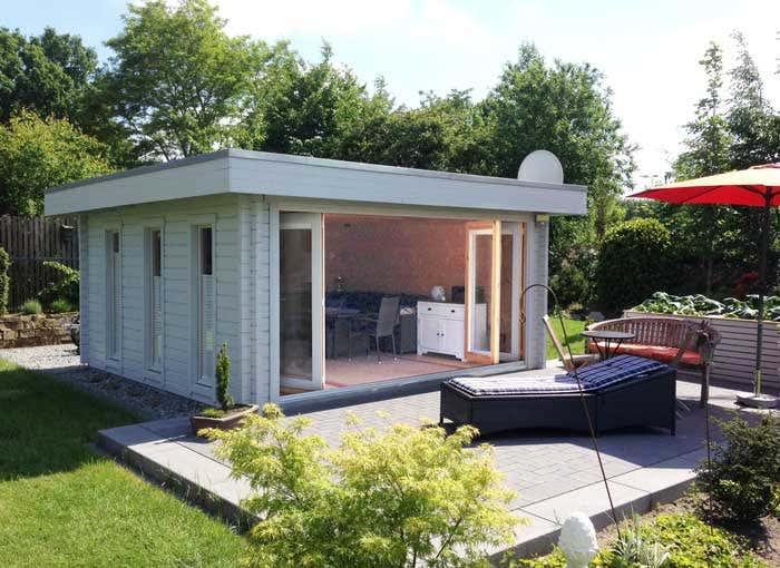 Gartenhaus u0026 Falttu00fcren - die perfekte Kombination
