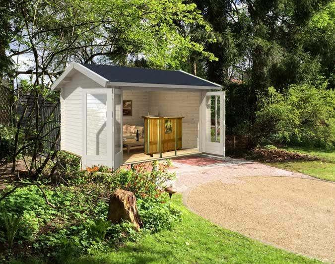 virtuelles Gartenhaus