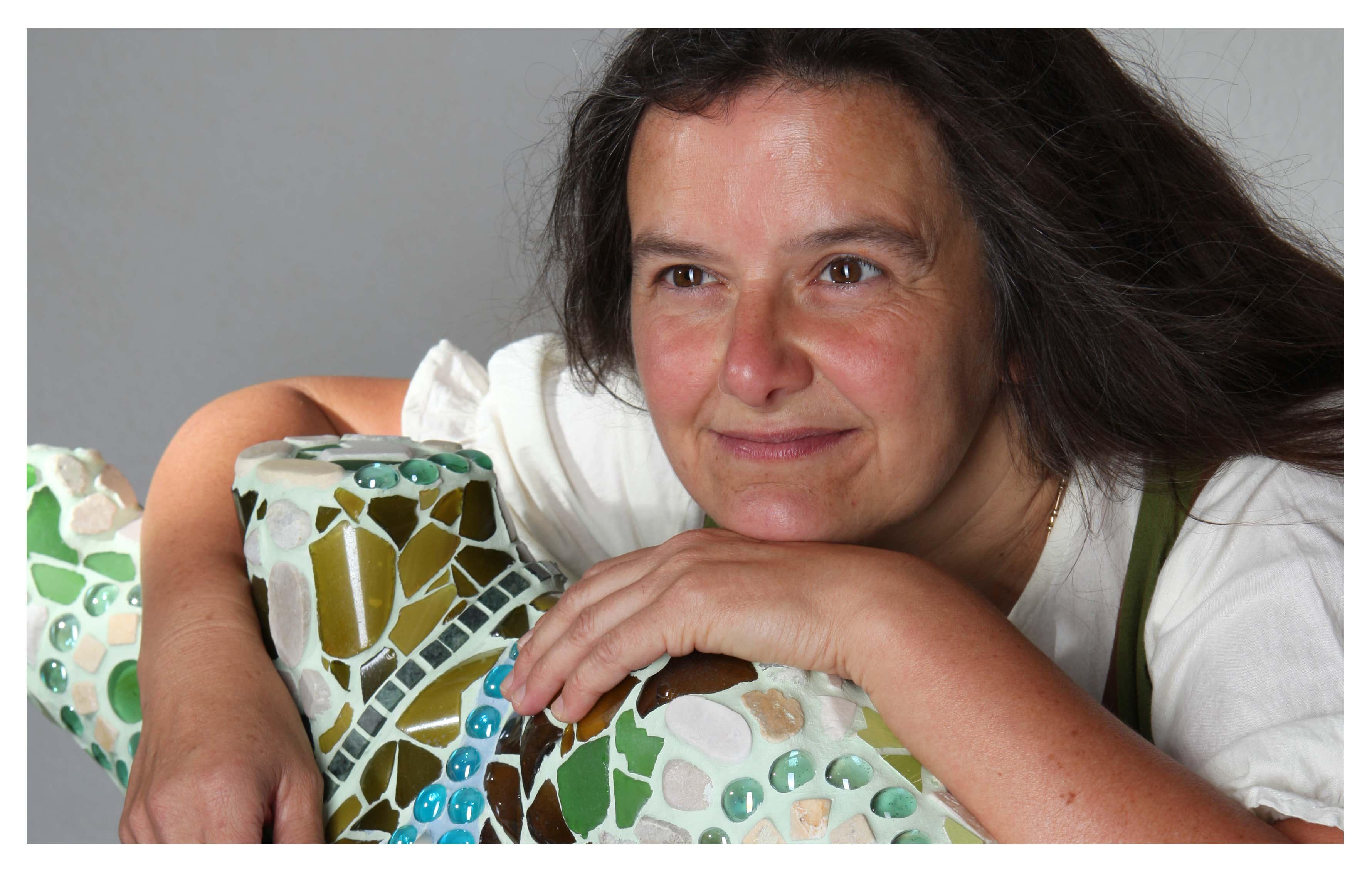 Kerstin Mosaikgarten Portrait