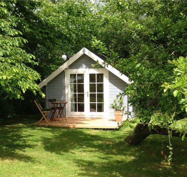 Vintage einrichtung und co 3 wohnideen f r ihr blockhaus - Skandinavisches gartenhaus ...